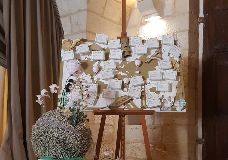 Matrimonio Tema Viaggio Tavoli : Wedding planner a lecce matrimonio a tema villa zaira