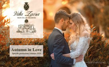 Autumn in love: sposarsi in autunno a Villa Zaira