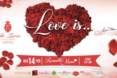 San Valentino 2020 a Villa Zaira